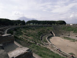 Amphitheatre  Pompeii  Unesco World Heritage Site  Campania  Italy