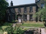 Bronte Vicarage (Parsonage)  Haworth  Yorkshire  England  United Kingdom