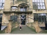 Glasgow School of Art  Designed by the Architect Charles Rennie Mackintosh  Glasgow  Scotland