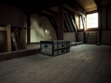 The Attic of Anne Frank House  Amsterdam  Holland
