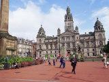 Town Hall  George Square  Glasgow  Scotland  United Kingdom
