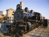 Locomotive  Haymarket District  Lincoln  Nebraska  USA