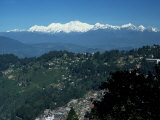 Kanchenjunga Massif Seen from Tiger Hill  Darjeeling  West Bengal State  India