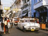 Old Pontiac  an American Car Kept Working Since Before the Revolution  Santiago De Cuba  Cuba