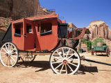 Stage Coach Outside Goulding's Museum  Monument Valley  Arizona/Utah Border  USA