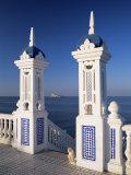 View to Benidorm Island from the Balcon Del Mediterraneo  Costa Blanca  Valencia  Spain