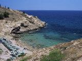 Cove Near Benidorm  Costa Blanca  Valencia Region  Spain  Mediterranean