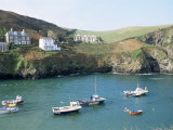 Port Isaac  Cornwall  England  United Kingdom