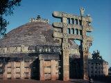 The East Gateway  Great Stupa  Sanchi  Unesco World Heritage Site  Bhopal  India