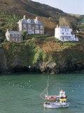 Port Isaac  Cornwall  England  United Kingdom