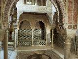 Royal Baths  Alhambra  Unesco World Heritage Site  Granada  Andalucia  Spain
