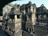 Rock-Cut Kailasa Temple  Ellora  Unesco World Heritage Site  Near Aurangabad  Maharashtra  India