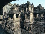 Rock-Cut Kailasa Temple  Ellora  Unesco World Heritage Site  Near Aurangabad  Maharashtra  India