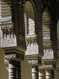 Detail  Court of the Lions  Alhambra  Unesco World Heritage Site  Granada  Andalucia  Spain
