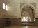 Hall of Two Sisters  Alhambra  Unesco World Heritage Site  Granada  Andalucia  Spain