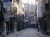 Stonegate  York  Yorkshire  England  United Kingdom