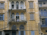 Bombed Buildings and Rebuilding  Beirut  Lebanon  Middle East