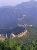 The Great Wall of China  Unesco World Heritage Site  Beijing  China