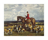 Stanley Barker And The Pytchley Hounds