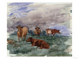 Cattle in a Landscape  1890