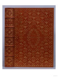 A Brown Morocco Gilt Binding by TJ Cobden-Sanderson of 'The Poetical Works of John Keats'  1889
