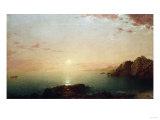 Coastal Sunset  1864