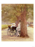 A Rest in the Row  1892