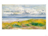 On the Cliffs, 1880 Giclée par Pierre-Auguste Renoir