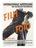 Film and Photo  Film Und Foto  Exhibition Poster  Artist Unknown  1929
