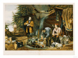 Camping in the Woods  a Good Time Coming  1863