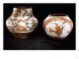 Two Zia Polychrome Jars
