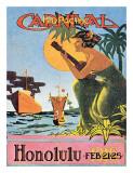 Mid-Pacifica Carnival 1916  Honolulu  Hawaii