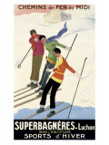 Superbagneres-Luchon  Sports d'Hiver