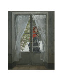 The Red Kerchief: Portrait of Mrs Monet  c1868-1878