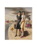 Oil Field Girls  c1940