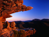 Rock Formation Known as the Balconies  Grampians National Park  Victoria  Australia