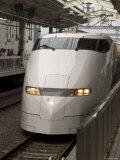 Front of a Shinkansen  Kyoto  Kinki  Japan