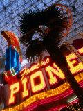 Neon Detail at the Fremont Experience in las Vegas  Las Vegas  Nevada
