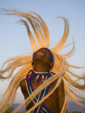 Intore Dancer Flicking His Hair  Rwanda