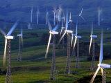 Te Apiti Wind Farm  Tararua Ranges  New Zealand