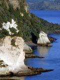 Early Morning Towards Cathedral Cove  Coromandel Peninsula  New Zealand