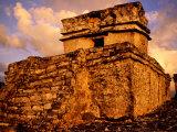 Temple of Dios Descendente  Tulum  Quitana Roo  Mexico