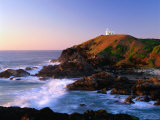 Tacking Point at Sunrise  Port Macquarie  New South Wales  Australia