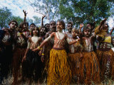 Lockhart River State School Dance Troupe  Cape York Peninsula  Queensland  Australia