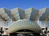 Gare Do Oriente Station  Lisbon  Portugal