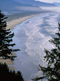 Manzanita Beach  Seen from Neahkahnie Mountain  Oregon