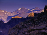 Front Range from Mt Evans Rd  Mt Evans  Colorado