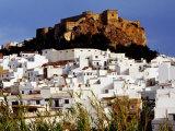 Moorish Castle Above Town on Costa Tropical  Almunecar  Andalucia  Spain