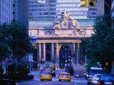 Street Outside Grand Central Station  New York City  New York