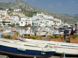 Harbour at San Angelo  Ischia  Campania  Italy